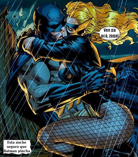Бэтмен и черная канарейка