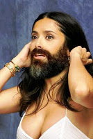 Salma hayek bearded